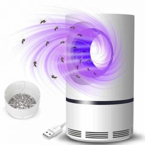 Mosquito Killer UV Lamp Trap, Silent , Safe, USB Power