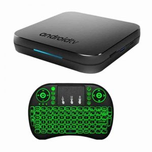 DSTV Now TV Box Combo, KM9 + i8 Keyboard Mouse, Android 9