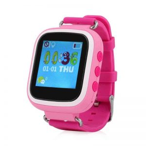 HZ55 – Kids GPS Tracking Phone Watch, SOS, Geofence, Voice and Chat, Pink