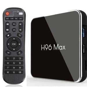 TV Box H96 Max, 4K UHD, 4/32G, Android 8, 4x Core CPU Media Player