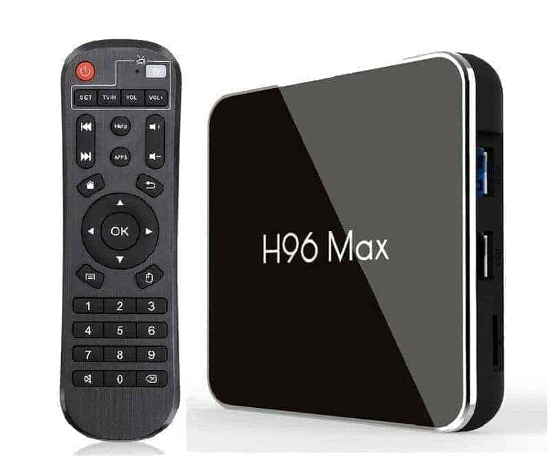 TV Box H96 Max, 4K UHD, 4/32G, Android 8, 4x Core CPU Media Player