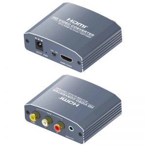 AV CVBS to HDMI converter upscaler
