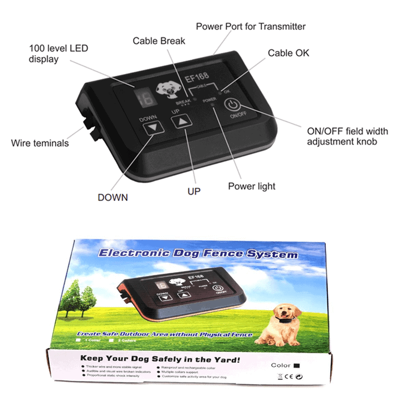 Wireless Dog Pet Fence Electronic pet containment functions