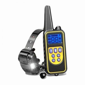 dog training collar remote 800m vibrate pulse shock rechargeable