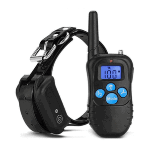 dog training collar remote vibrate pulse shock rechargeable