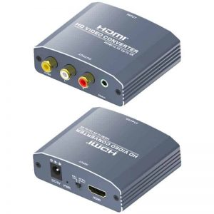 hdmi to av CVBS converter with audio out