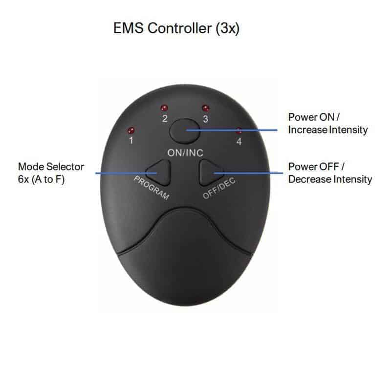 EMS AB and Muscle toner_controller