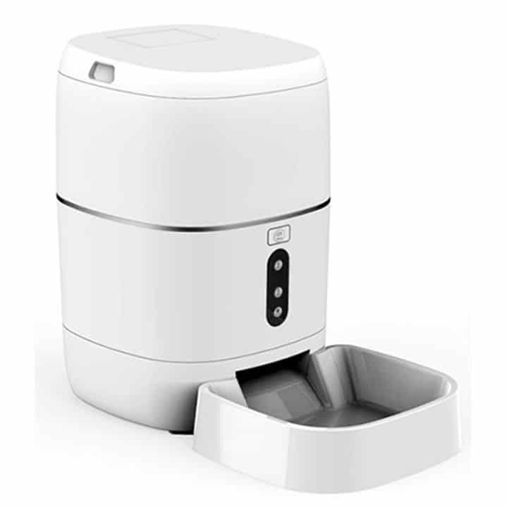 automatic dog cat pet food feeder dispenser smart wifi tuya smartlife