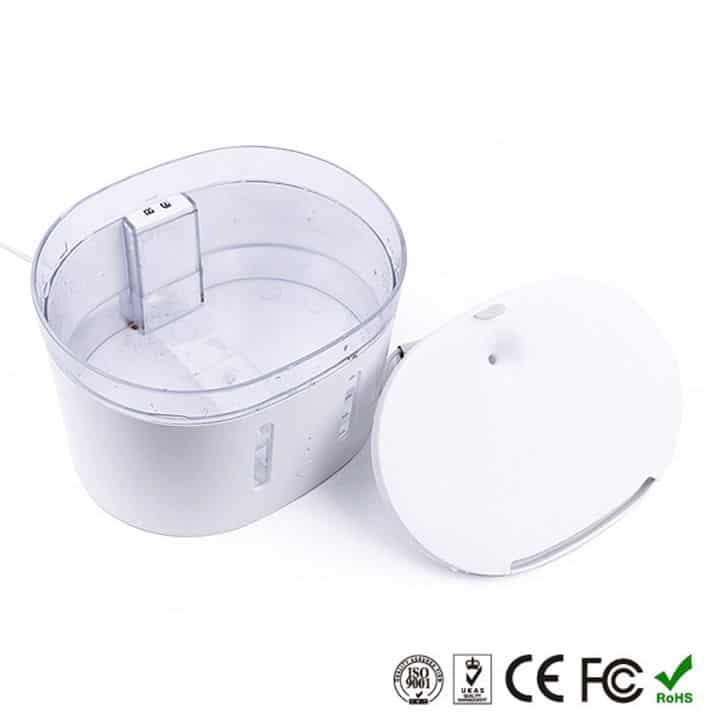 smart pet water feeder tuya 2L capacity
