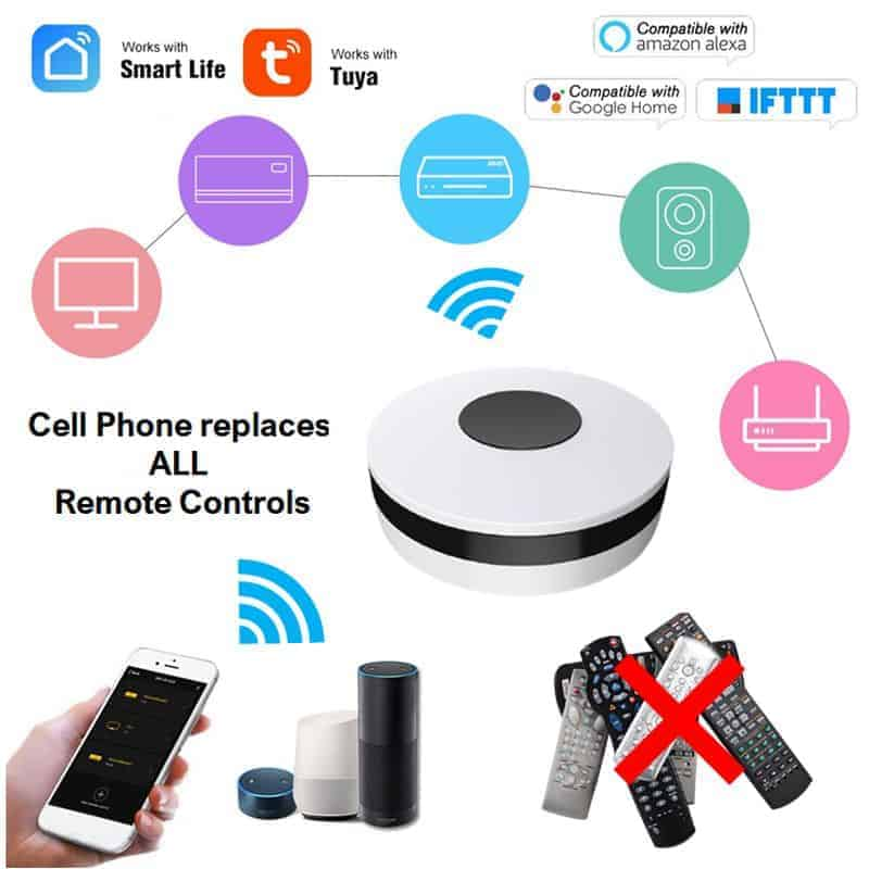 smart wifi ir remote controller replaces all remote controls