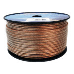 Monster Speaker Cable 14AWG, 2.5mm Transparent | 10m, 30m Roll or 100m Drum