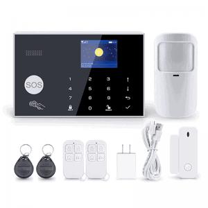 smart security alarm kit tuya GSM sim card