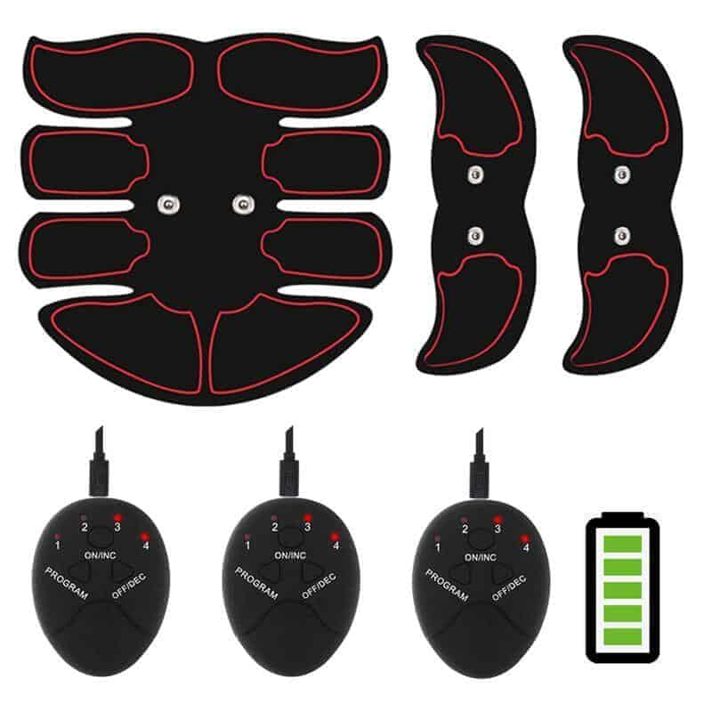 EMS 8 fin rechargeable abs muscle stimulator
