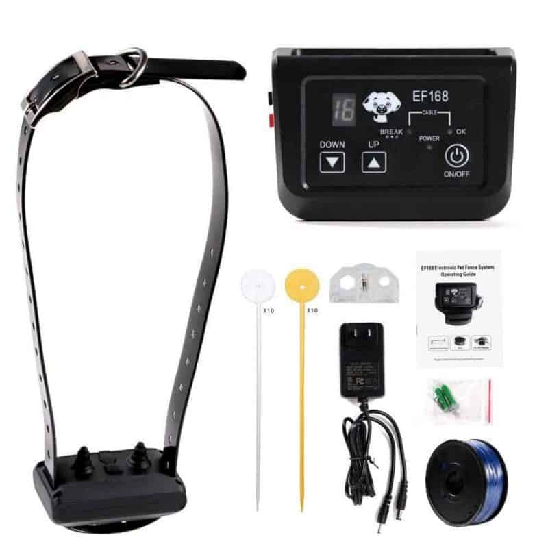 Wireless Dog Pet Fence Electronic fence Rechargeable and Waterproof Collar 1x Receivers