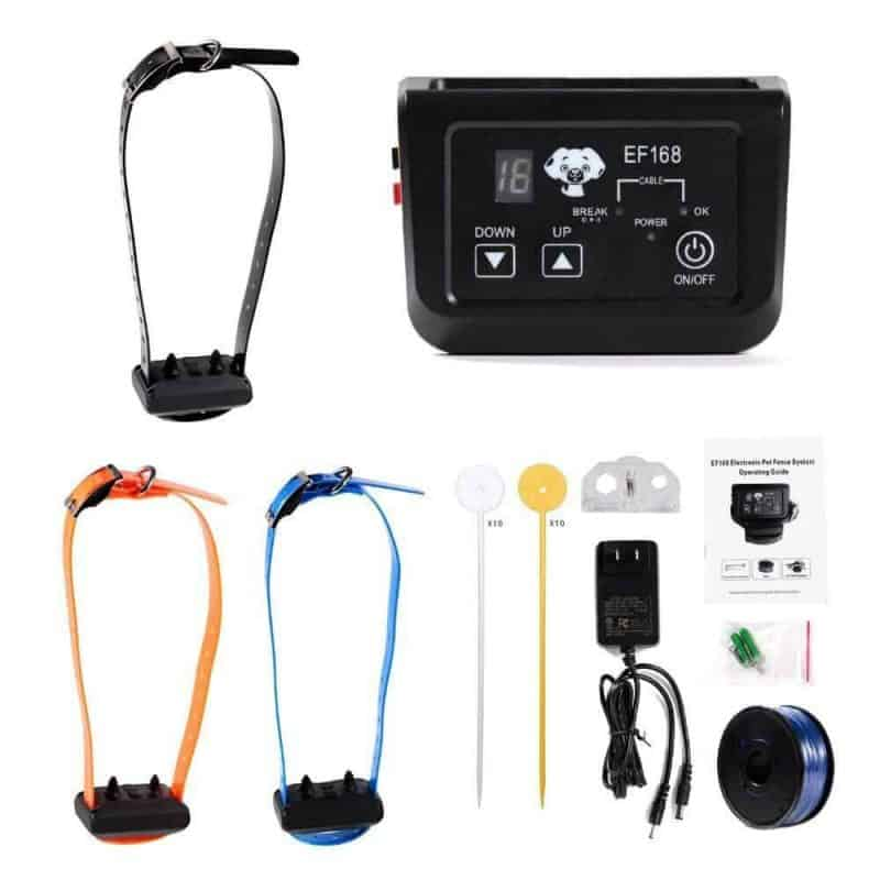 Wireless-Dog-Pet-Fence-Electronic-fence-Rechargeable-and-Waterproof-Collar-3x-Receivers