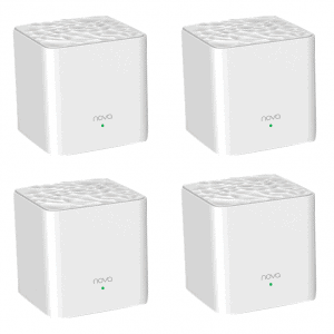 WiFi Extender 4 Node Large Home Mesh Network AC1200, Tenda Nova MW3