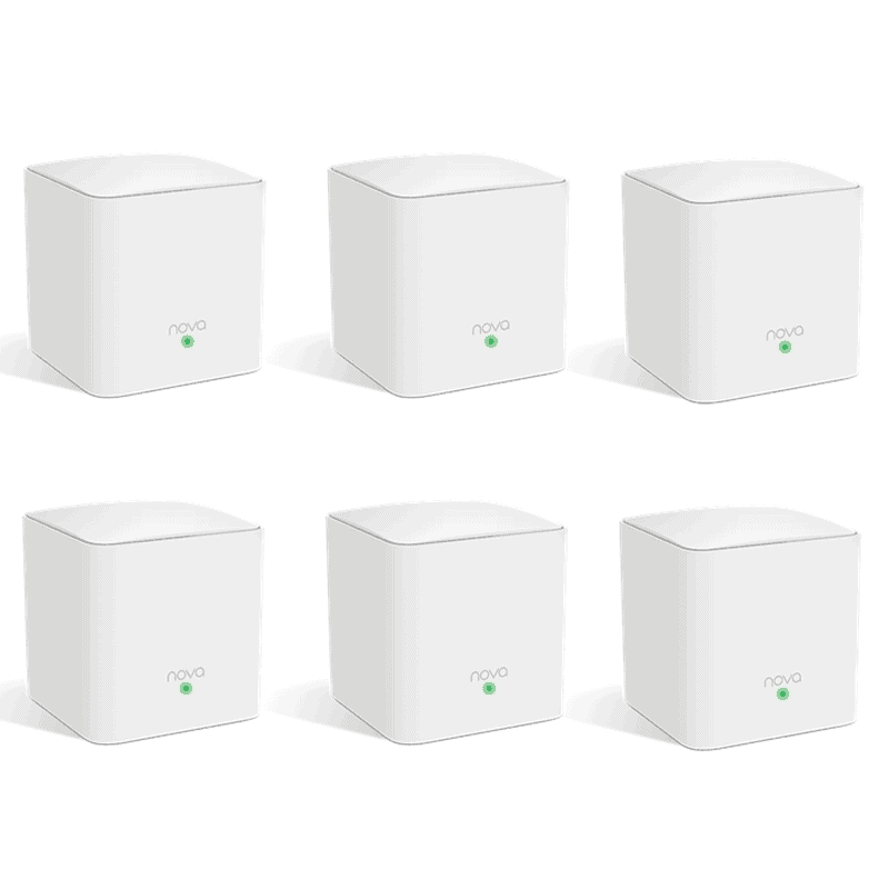 tenda mw5c 6 node wifi extender mesh network