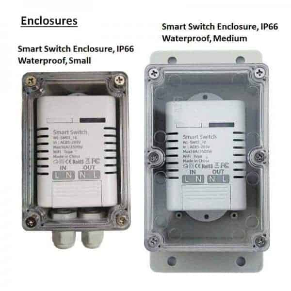 16A Smart WiFi Switch Enclosures ip66 sonoff tuya