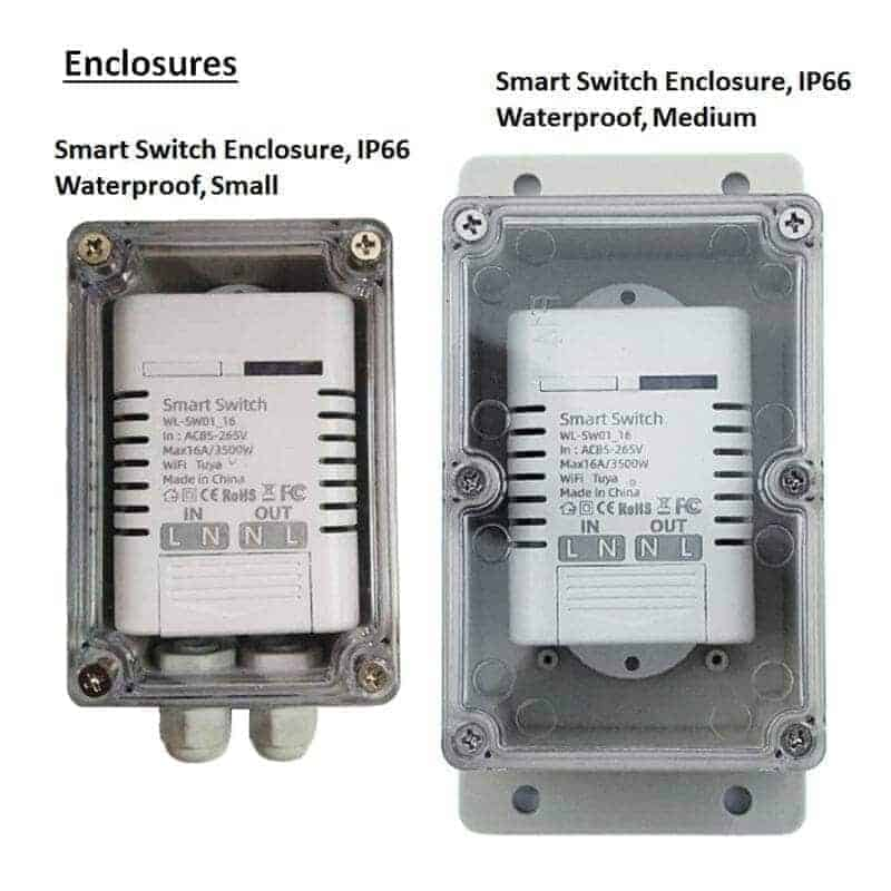16A Smart WiFi Switch Enclosures