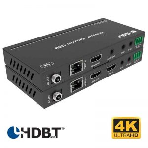 18Gbps HDMI Extender with Bi directional IR Control 150 Meters 4K2K