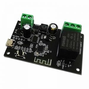 Smart 1Ch Self Locking Inching Relay WiFi Switch 10A Tuya
