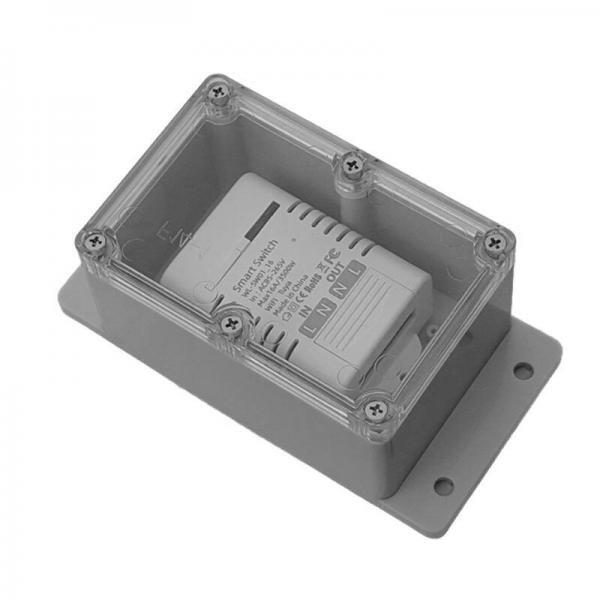 Smart Switch Enclosure IP66- Medium sonoff tuya inching relay housing basic switch 10 A 16A