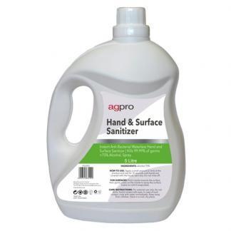 surface hand sanitiser 75 alcohol 5 litre 5L