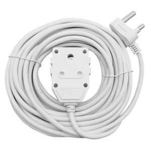 10A Extension Cord with Double Coupler