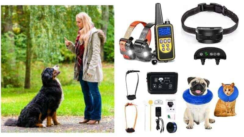 pet training aids dog training remote and no bark recovery collars ultrasonic pest repellers