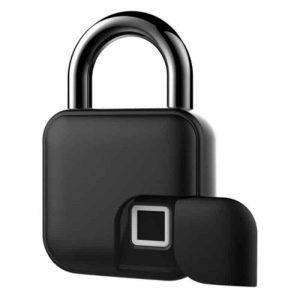 smart wireless padlock biometrics fingerprint bluetooth