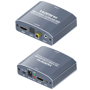 hdmi audio extractor DAC to optical toslink digital to analog RCA