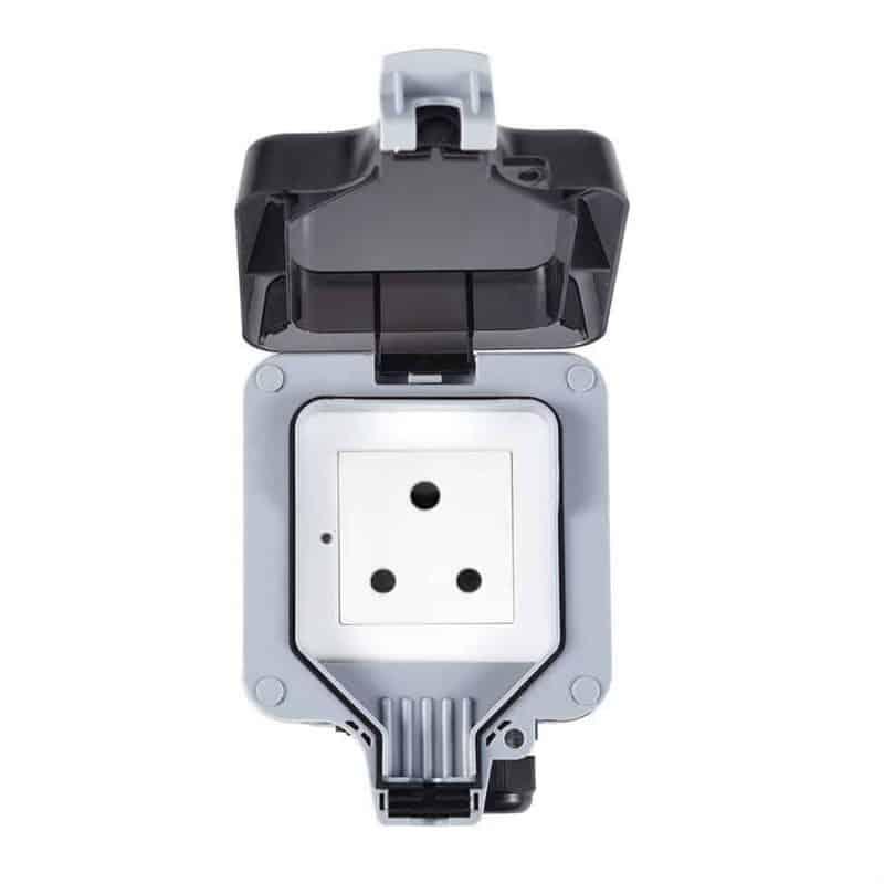Smart WiFi Switch Outdoor IP66 Waterproof 16A SA 3 pin 1 Gang Tuya SmartLife