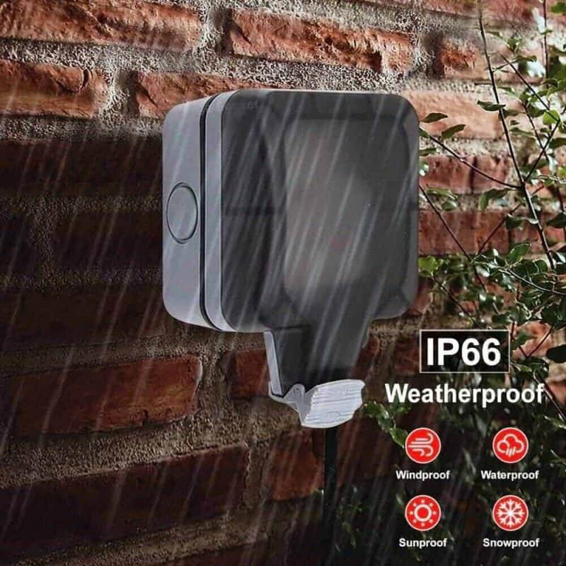 Smart WiFi Switch Outdoor Waterproof 16A SA 1 Gang Tuya SmartLife_1