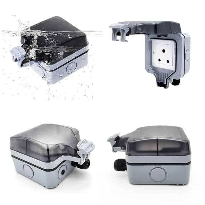 Smart WiFi Switch Outdoors IP66 Waterproof 16A SA 1 Gang Tuya SmartLife