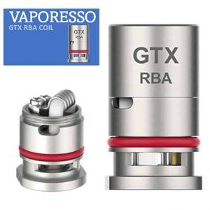 vaporesso GTX RBA rebuildable coil