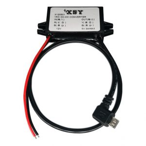 12VDC to MicoUSB converter 5VDC dc-dc